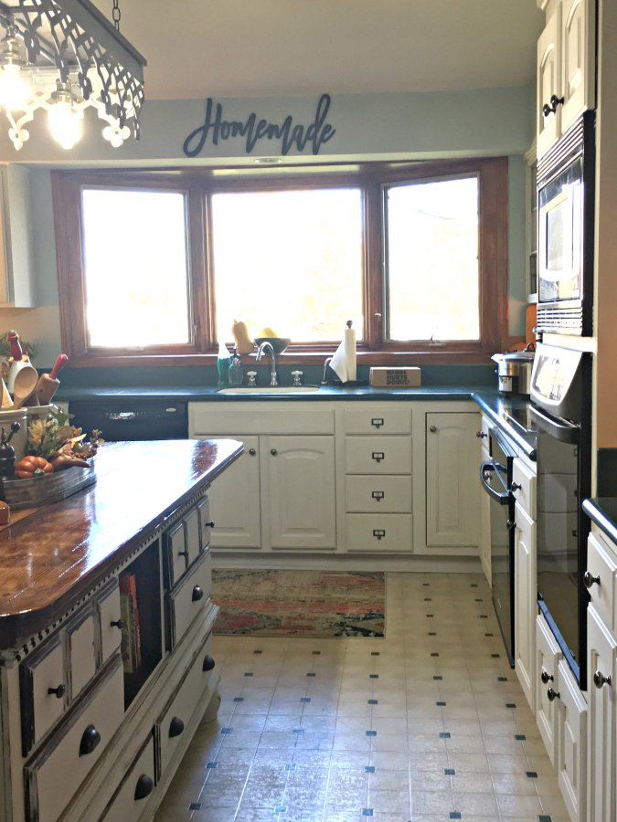 our kitchen just got a make-over-peppermillbnb-cabinets