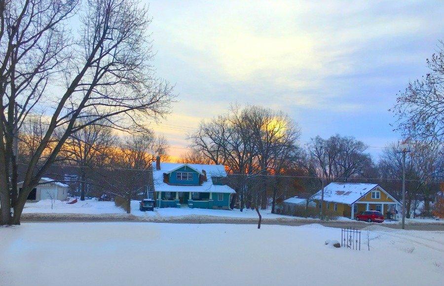 Winter in beautiful Iowa-peppermillbnb-mornings