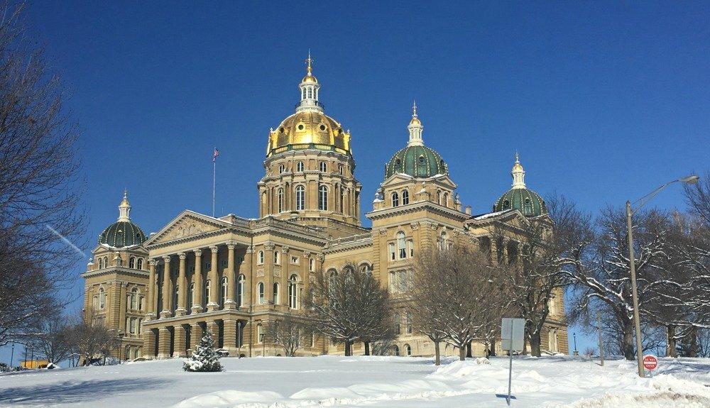 Winter in beautiful Iowa-peppermillbnb-capital