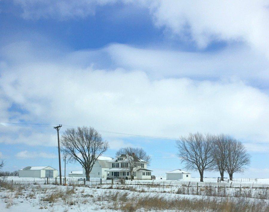 Winter in beautiful Iowa-peppermillbnb-iowa